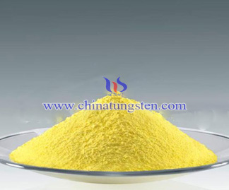 Yellow Tungsten Oxide Picture