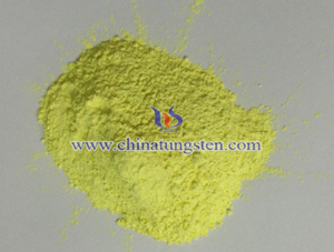 yellow tungsten oxide